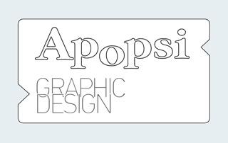 APOPSI Graphic Design Logo